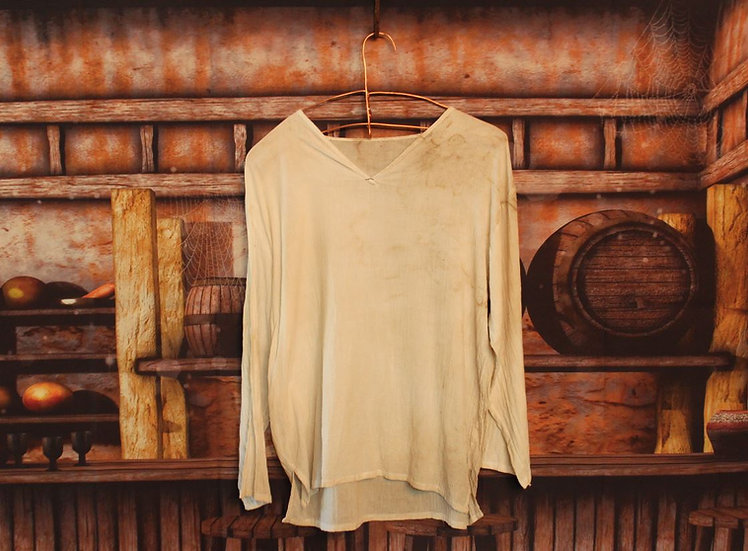 Linen Shirt - Stained