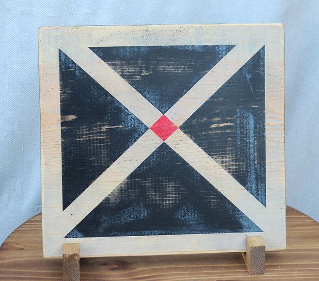 Signal Flag - Wooden Plaque