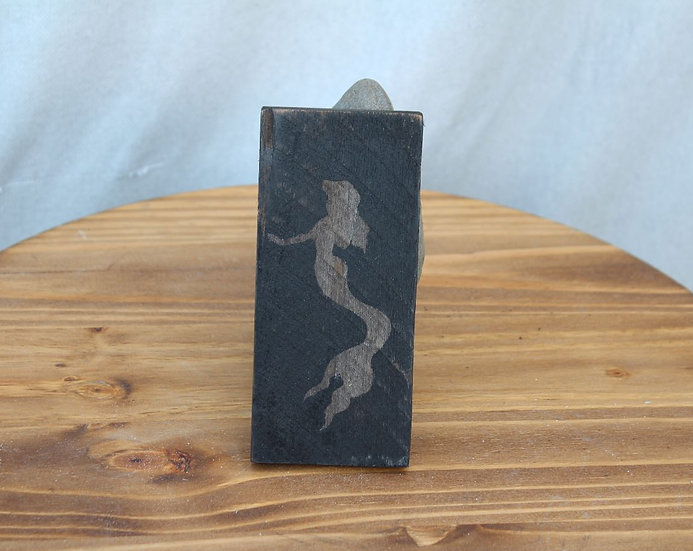 Mermaid Small Wooden Plaque