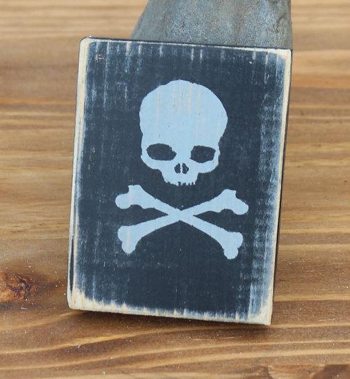 Skull N Bones Wooden Plaques - XSmall