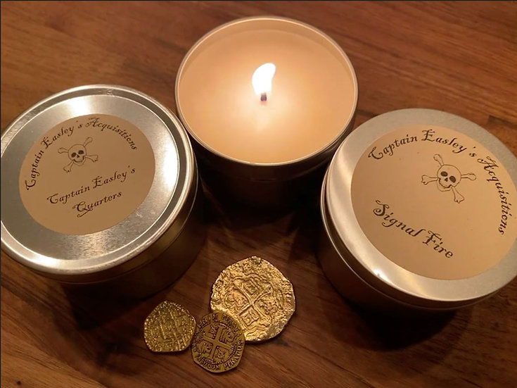 Custom 8 oz Candle Trio