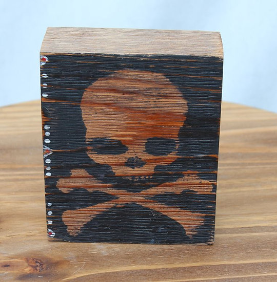 Skull N Bones Wooden Blocks