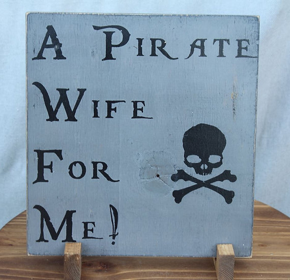 A Pirate Wife for Me!
