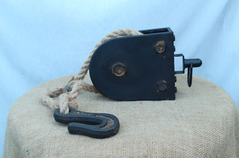 Block and Tackle with Rope and Hook