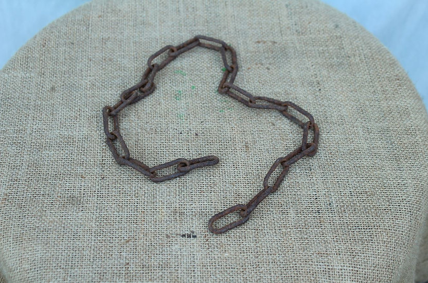 Length of Rusted Chain