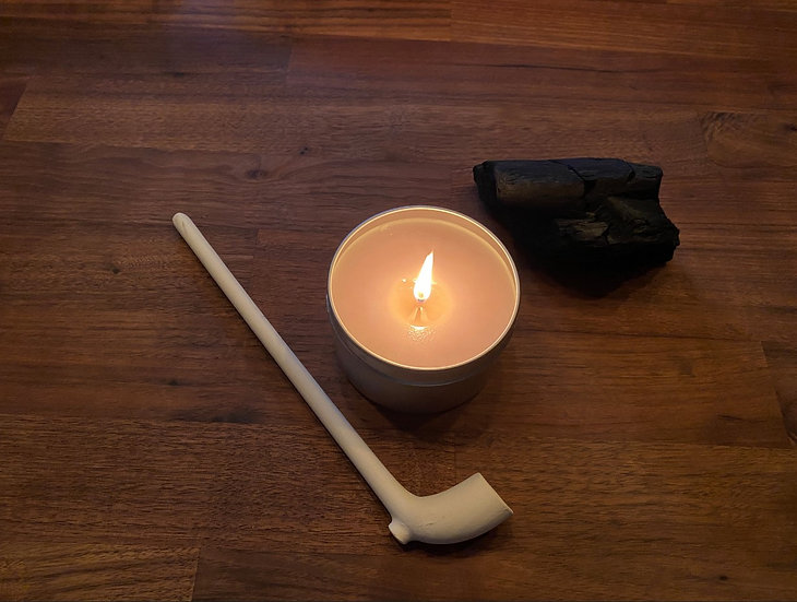 Fire Side Pipe -  8 oz Candle