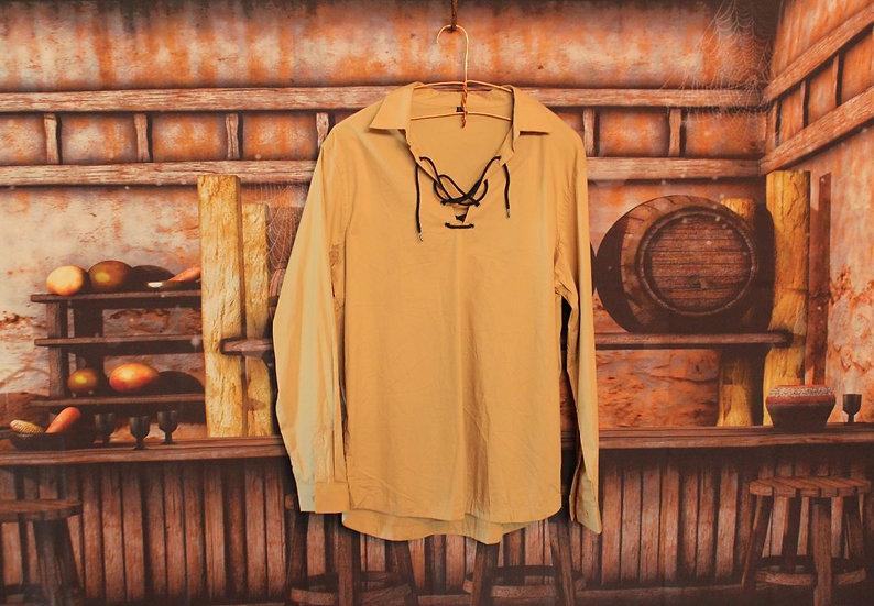 Tan Scottish Jacobite Shirt
