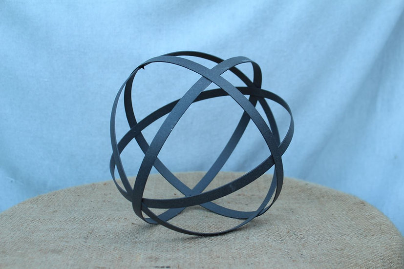 Metal Strap Sphere