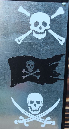 Pirate Decals- Assorted