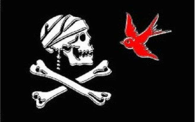 3' x 5'  J Sparrow Flag