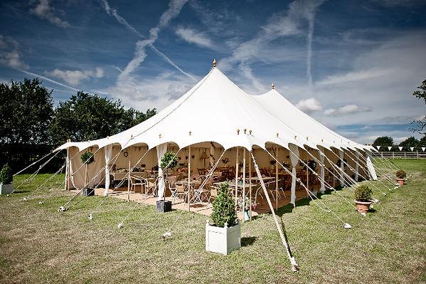 Petal Pole Tent 9x15m