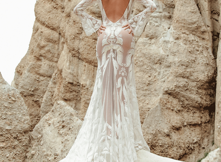 4 Stunning Bohemian Bridal Designers that will make jaws drop but won't break the bank!