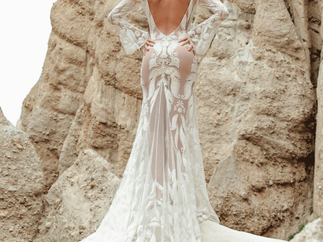 4 Stunning Bohemian Bridal Designers that will make jaws drop but won't break the bank!