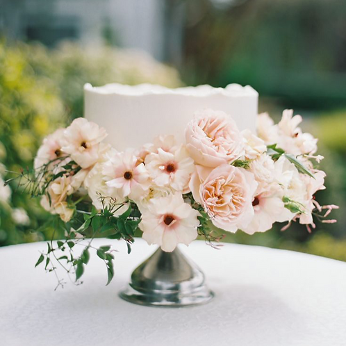 Supporting Cake Flowers