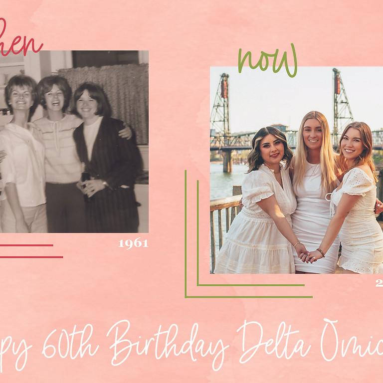 Delta Omicron's 60th Birthday