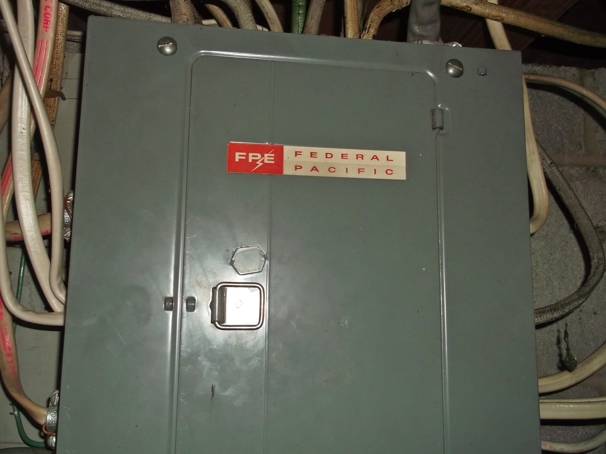 Federal Pacific circuit panel