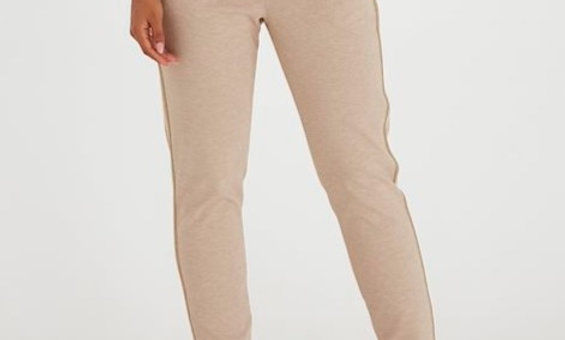 Byoung Rizetta Crop Pants with stripe