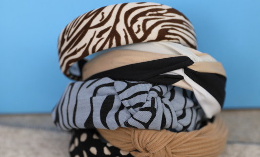 Black Colour Headband