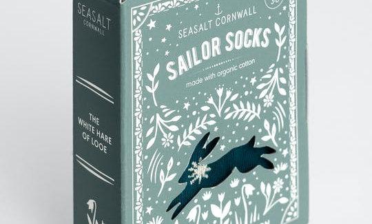 "Seasalt Folktale "" Book"" socks"