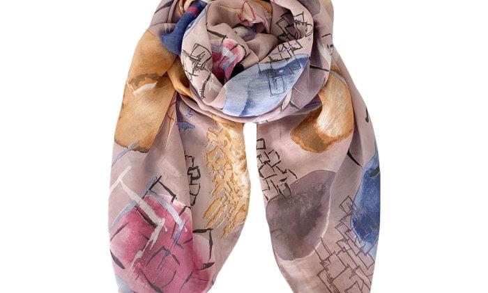 Black Colour Tallulah scarf