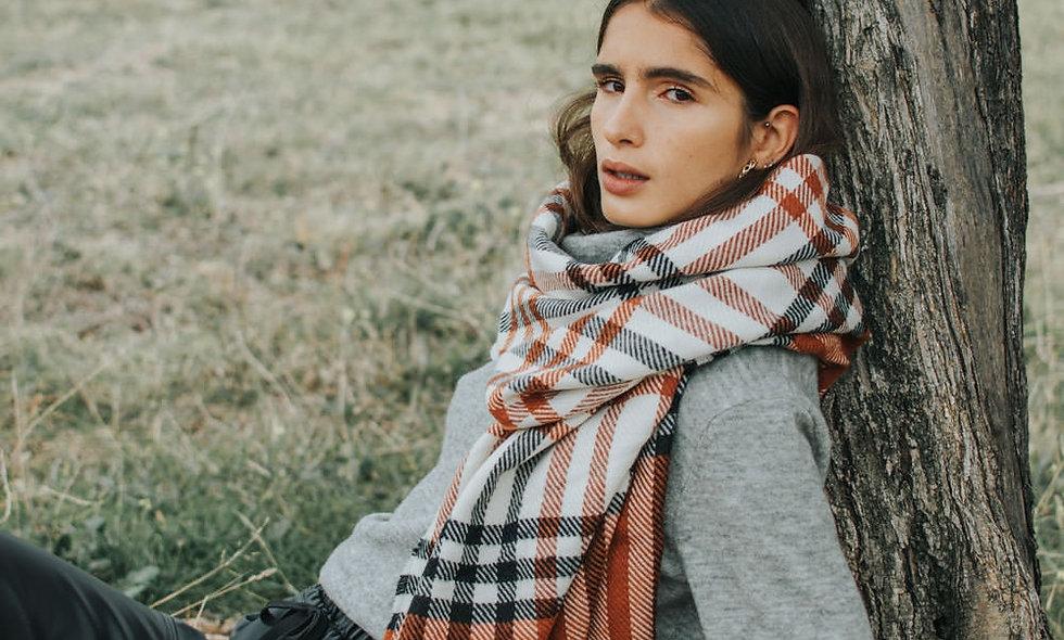 ese O ese Tartan scarf