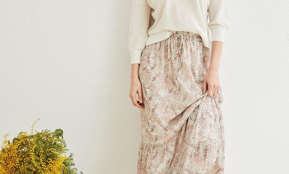 ese O ese Block Kioto ankle length skirt