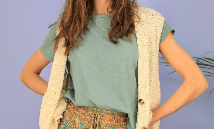Black ColourTami Knit Vest