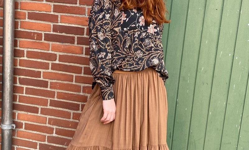 Black Colour Heidi skirt