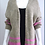 Thumbnail: Miss Sugar chunky stripe knit cardigan