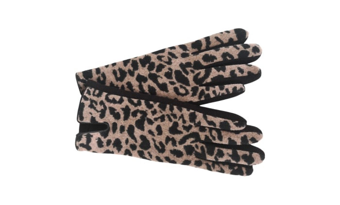 Black Colour Moody Leo Gloves