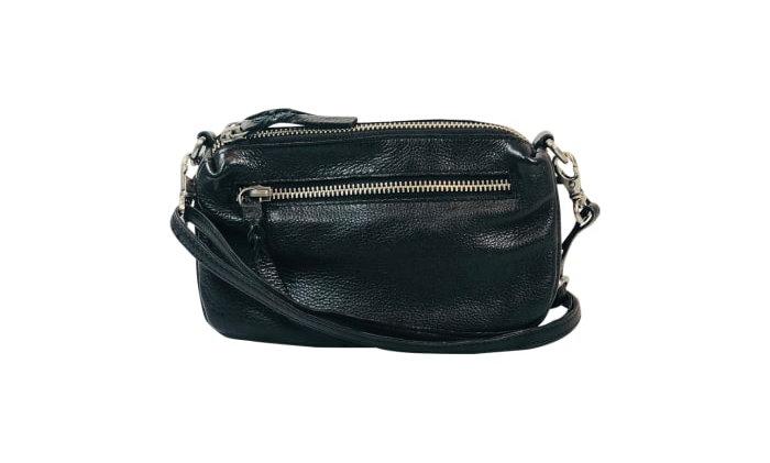Black Colour crossbody box bag