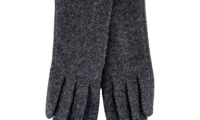 Black Colour Mary Gloves
