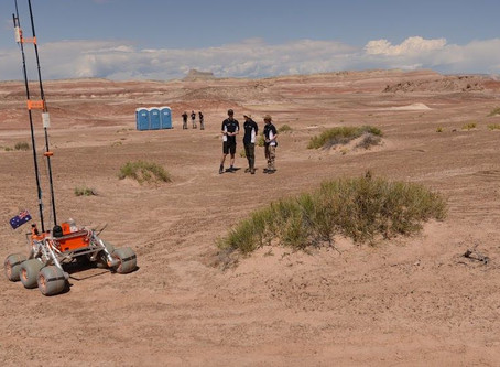 The Mars rover experience