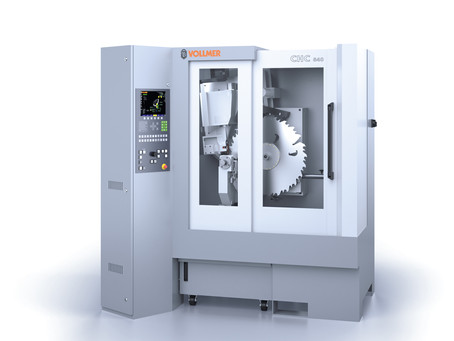 Introducing our latest Precision CNC TCT Grinder - VOLLMER CHC 840