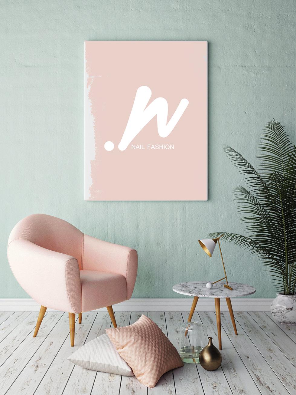 nail  logo design graphic design studio