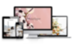 custom wordpress website design for florist