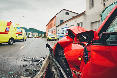 ambulances-for-a-traffic-accident-PTVKK3
