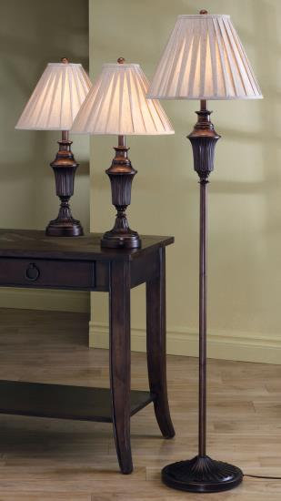 Lamp set of 3 Elegance