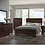 Thumbnail: Queen Contemporary wood bed