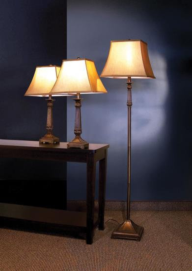 Lamp set of 3 Elegance