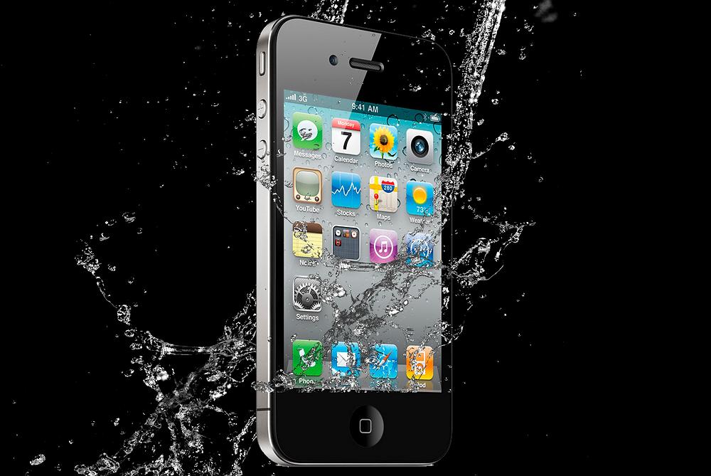 Water Damaged Phone