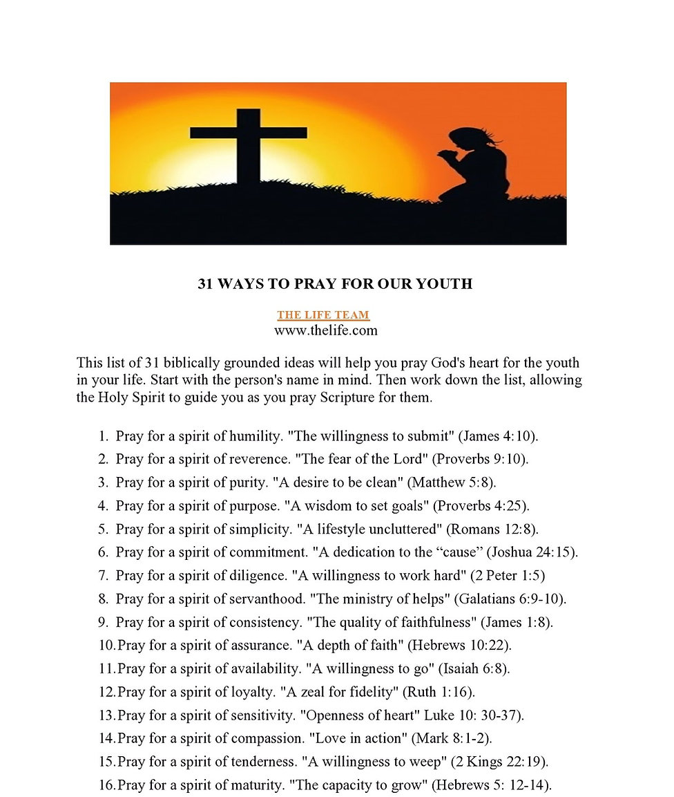 31 WAYS TO PRAY FOR OUR YOUTH-page0001.j
