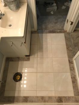 Bathroom Tile Remodel