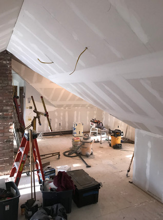 Attic Drywall Remodels