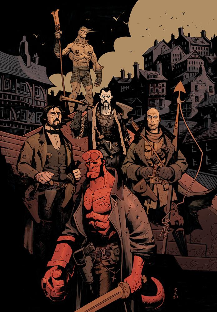 Hellboy print