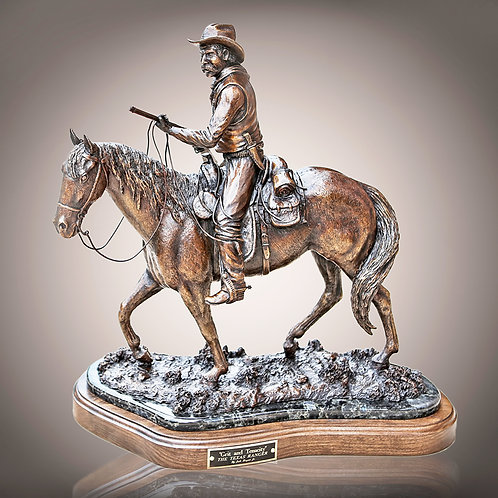 'Grit  & Tenacity' Commemorative Statue