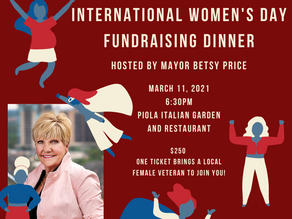 International Women's Day Sailor Supper