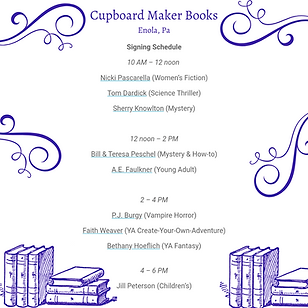 Cupboard Makers Books Enola, Pa.png