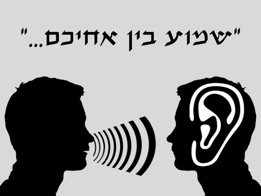 פרשת דברים – בשביל זה יש לנו אוזניים