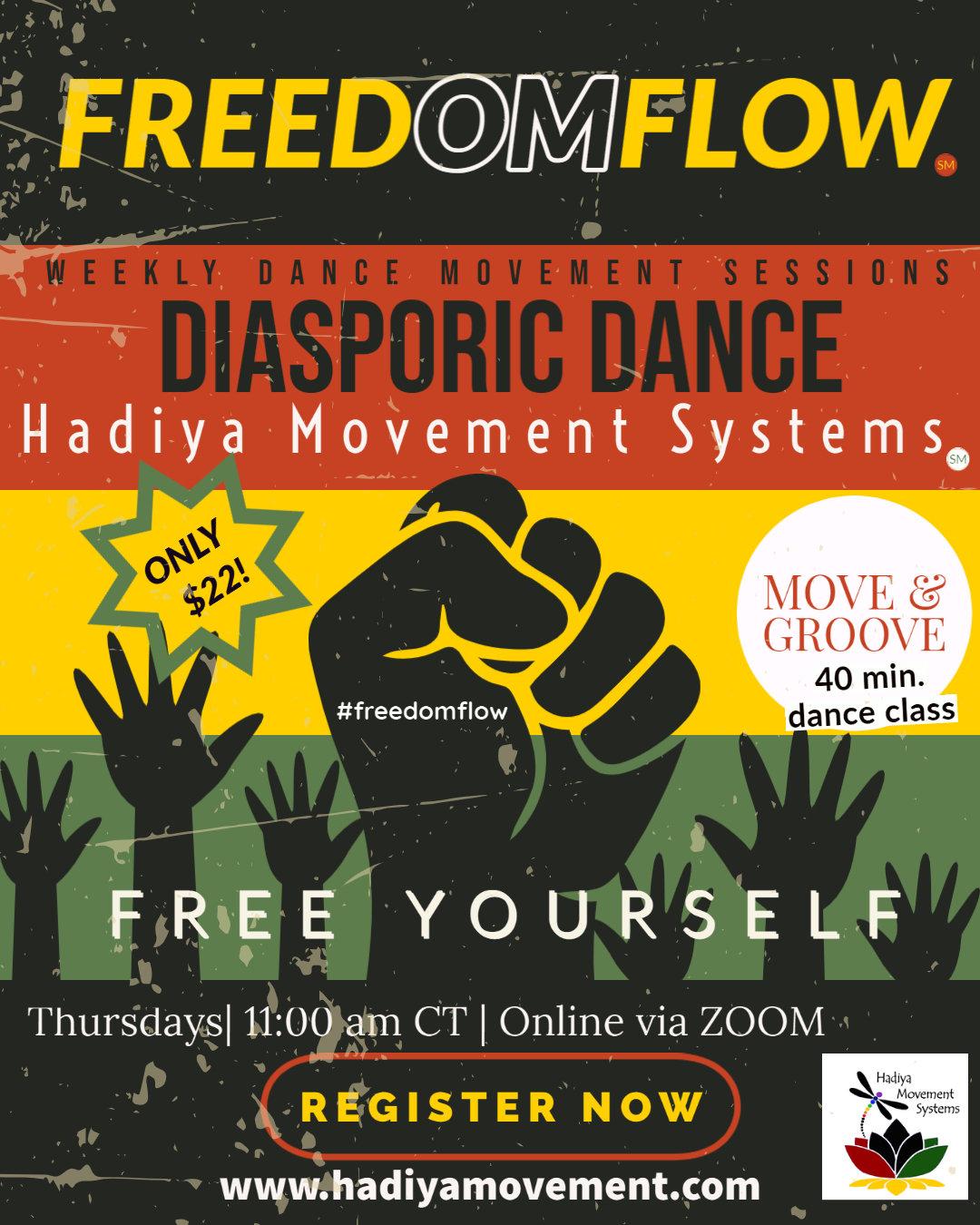 FreedOMFlow -  Diasporic Dance